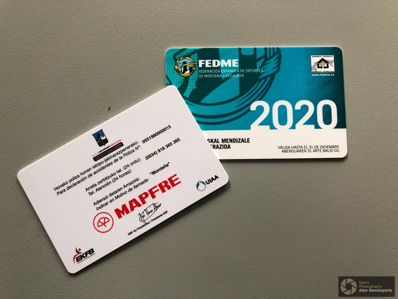 Licencia Federativa de Montaña - EMF + FEDME