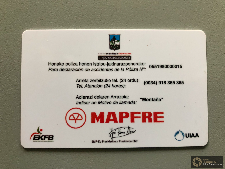 Licencia Federativa de Montaña - EMF
