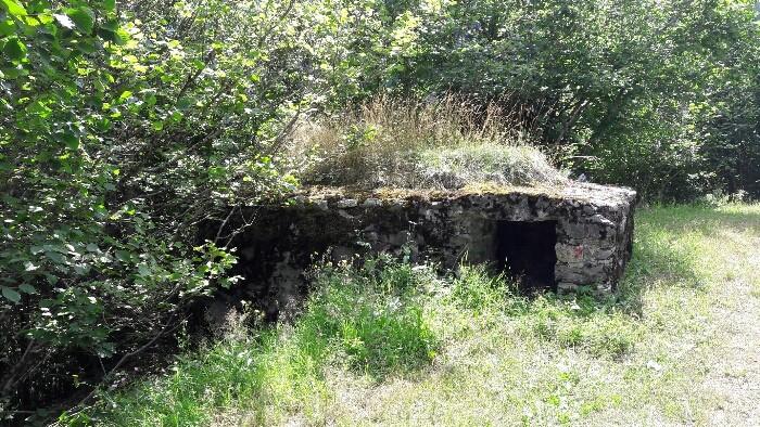 Nido ametralladoras. Cubría la entrada del túnel de Vielha. Foto propiedad dmdeivil
